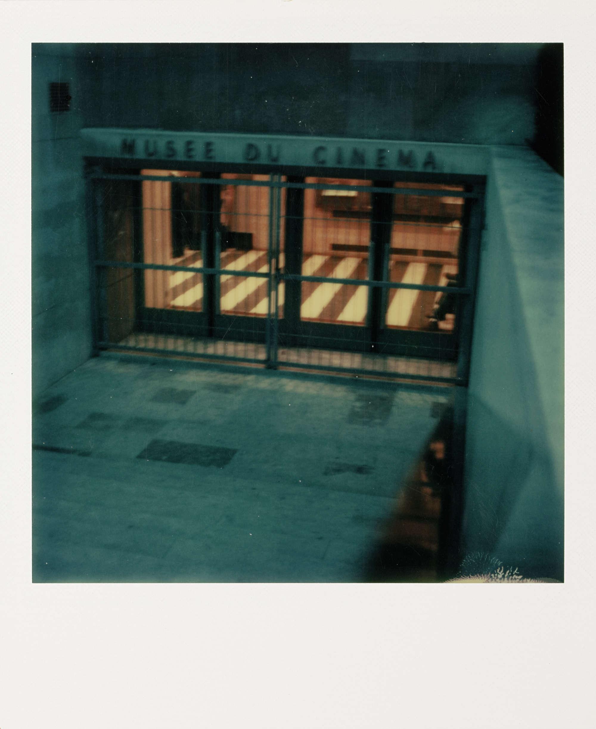 «Entrance to the Cinémathèque», Paris, 1981.