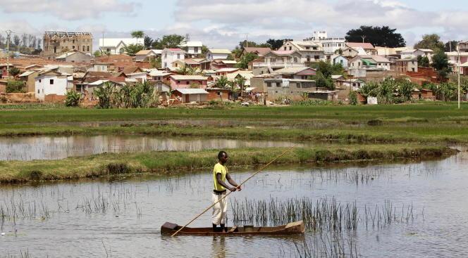 Antananarivo, la capitale de Madagascar en 2013.