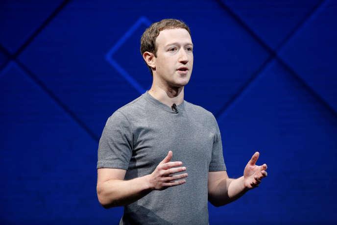 Mark Zuckerberg, le fondateur de Facebook, à San José, en Californie, le 4 janvier.