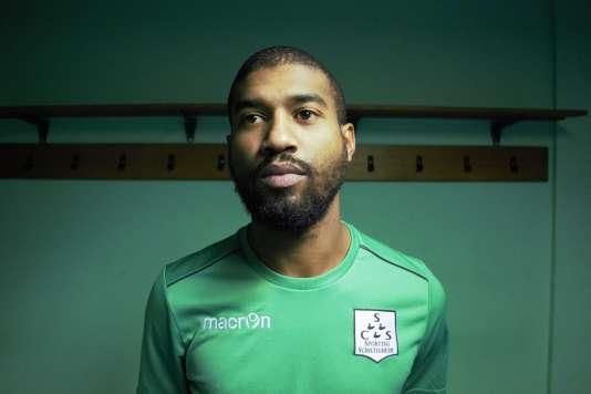 « Le football, c'est 80 % mental. » Jean-Alain Fanchone, défenseur du Sporting Club de Schiltigheim.