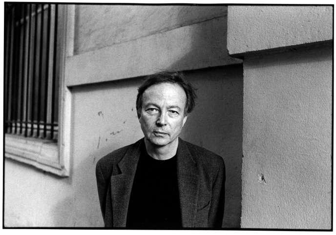 Paul Otchakovsky-Laurens (P.O.L.), à Paris, en 2002.