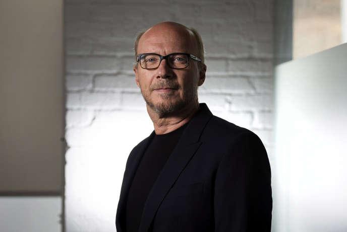 Le réalisateur Paul Haggis lors du festival international de Toronto en 2014.