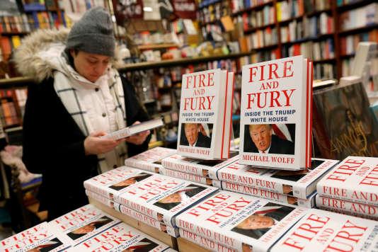 Dans une libraire à New York, le 5 janvier.