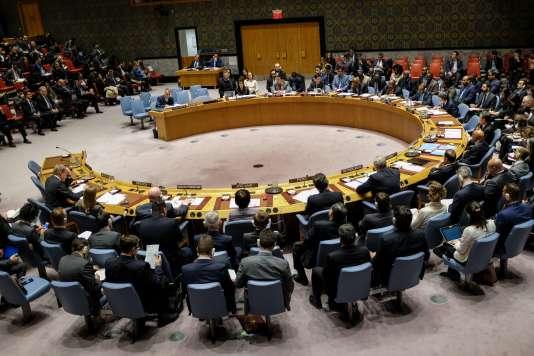 La réunion du Conseil de sécurité sur l'Iran, le 5 janvier.