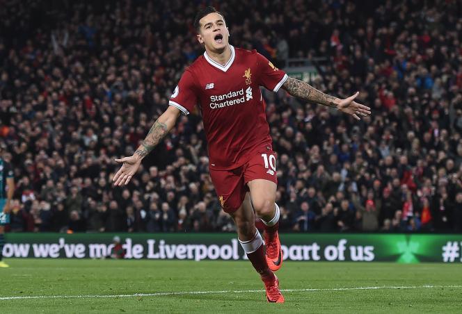 Philippe Coutinho, le 18 novembre à Liverpool.