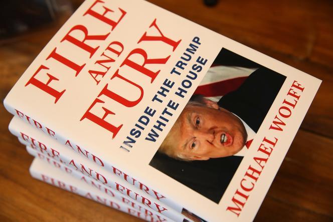 L'ouvrage de Michael Wolff en vente dans une librairie de Corte Madera, en Californie, le 5 janvier.