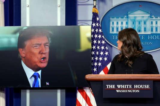 Pendant le briefing quotidien aux journalistes, à la Maison Blanche, le 4 janvier.