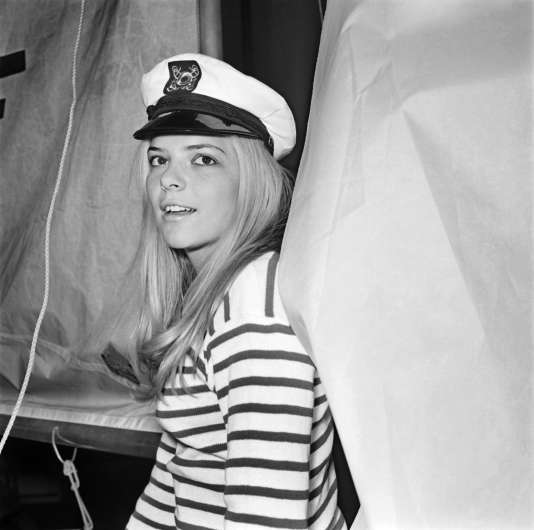 France Gall, le 17 janvier 1968.