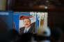 Hommage à l'ancien président Ali Abdallah Saleh, lors d'un meeting du Congrès général du peuple, à Sanaa, le 7 janvier.