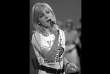 "FILE - In this June 4, 1970 file photo, French singer France Gall performs on stage during the 'Deutsche Schlagerwettbewerb', a German song contest, in Mainz, West Germany. Gall, who collected hits and sold millions of albums over a four-decade career, has died. She was 70. Her agent Genevieve Salama told The Associated Press that the singer, with her signature blond bangs, died of cancer in the Paris region on Sunday, Jan. 7, 2018. French President Emmanuel Macron wrote in a tweet that Gall ""lasted through time thanks to her sincerity and generosity"", leaving ""songs known to all French."" (AP Photo/Peter Hillebrecht, File)"