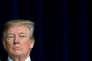 Donald Trump, lors d'une conférence de presse à Camp David (Maryland), le 6 janvier.