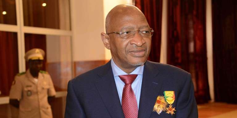 Le premier ministre malien, Soumeylou Boubèye Maïga, au palais présidentiel de Koulouba, quelques mois avant sa nomination, le 30 décembre 2017.