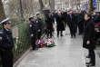 Emmanuel Macron a rendu hommage au policier Ahmed Merabet tué après l'attaque terroriste contre«Charlie Hebdo»le 7 janvier 2015.