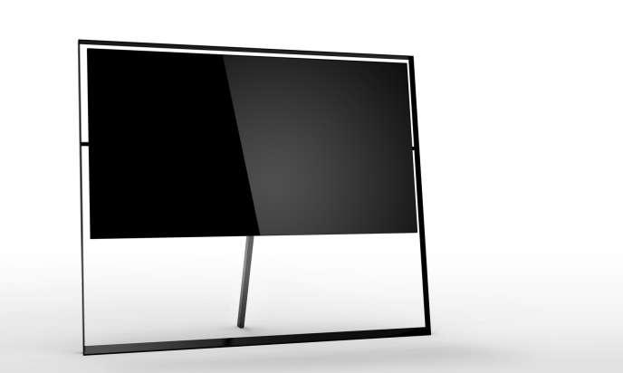La Q9s, la télévision 8K de 85 pouces de Samsung.