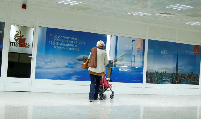 A l'aéroport de Tunis-Carthage, le 25 décembre 2017.