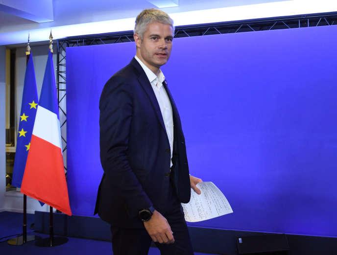 Laurent Wauquiez à Paris le 13décembre 2017.