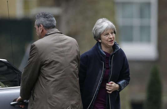 Theresa May, la première ministre britannique, le 8 janvier à Londres.