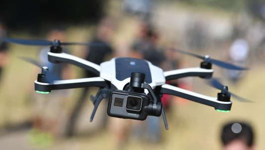 Le drone pliable Karma de GoPro, en Californie en septembre 2016.