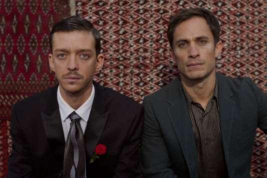 Nahuel Perez Biscayart etGael García Bernal dans«Si tu voyais son coeur»de Joan Chemla