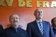 Jacques Brunel et Bernard Laporte, le 8 janvier à Paris.