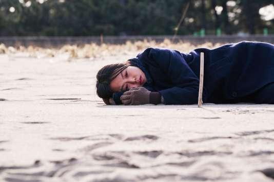 L'actrice Min-Hee Kim dans «Seule sur la plage la nuit»d'Hong Sang-soo.