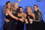 La cérémonie des Golden Globes, qui précède d'un mois les Oscars et récompense aussi bien la télévision que le septième art s'est déroulée dimanche 7 janvier au Beverly Hilton Hotel, à Los Angeles.