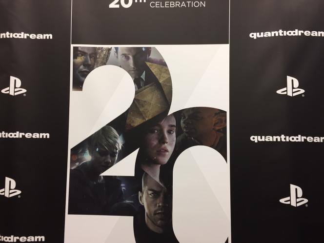 Quantic Dream, qui a fêté ses 20 ans en 2017, est le studio de jeu vidéo indépendant français le plus connu dans le monde.
