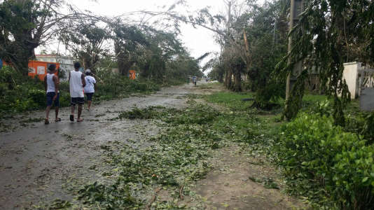 Au cours des dix dernières années, Madagascar, un des pays les plus pauvres au monde, a été frappé par quarante-cinq cyclones et tempêtes tropicales.