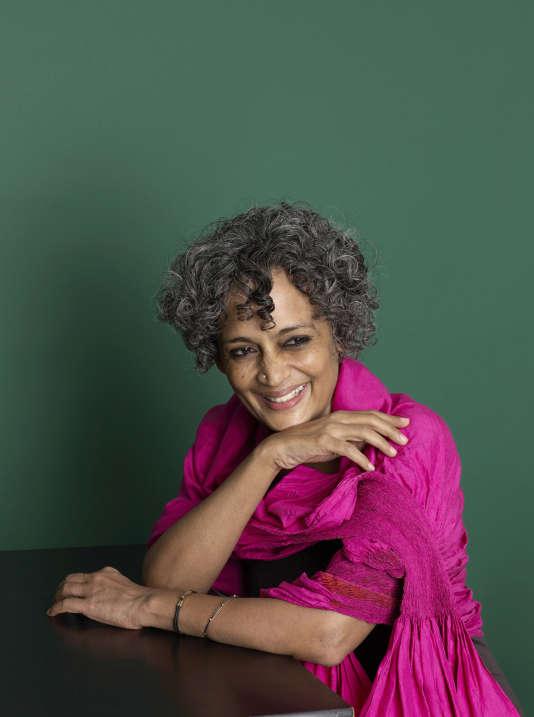 L'écrivaine indienne Arundhati Roy, en 2014.