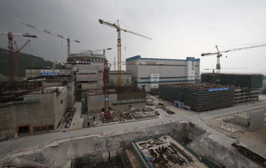 Vue de la centrale nucléaire de Taishan, en octobre 2013.