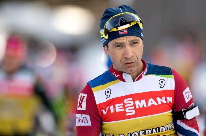 Ole Einar Björndalen, ici à l'entraînement à Ruhpolding, ne disputera sans doute pas ses 7è Jeux olympiques à Pyeongchang.