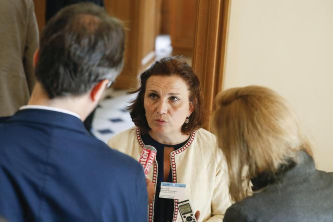 Véronique Descacq,secrétaire générale adjointe de la CFDT, le 5 juillet 2017.