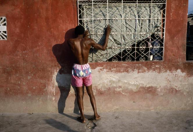 A Port-au-Prince, Haïti, en 1995.