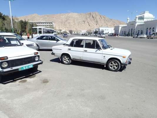 A Türkmenbashi, dans l'ouest du Turkménistan, le 4 avril 2017.