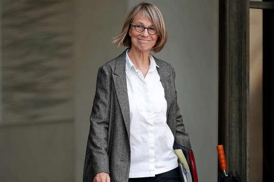 La ministre de la culture Françoise Nyssen à Paris en octobre 2017.
