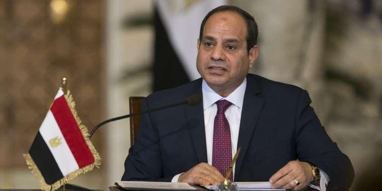 Le président égyptien, Abdel Fattah al-Sissi, lors d'une conférence de presse au Caire, le 11décembre 2017.