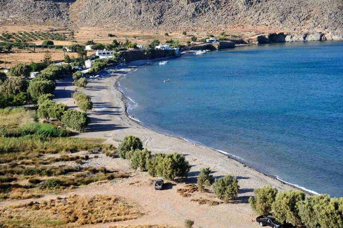 La plage de Zakros.