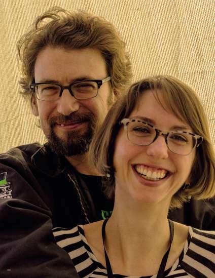B. J. et Eileen Winslow, à la tête de l'entreprise Dapper Cadaver.