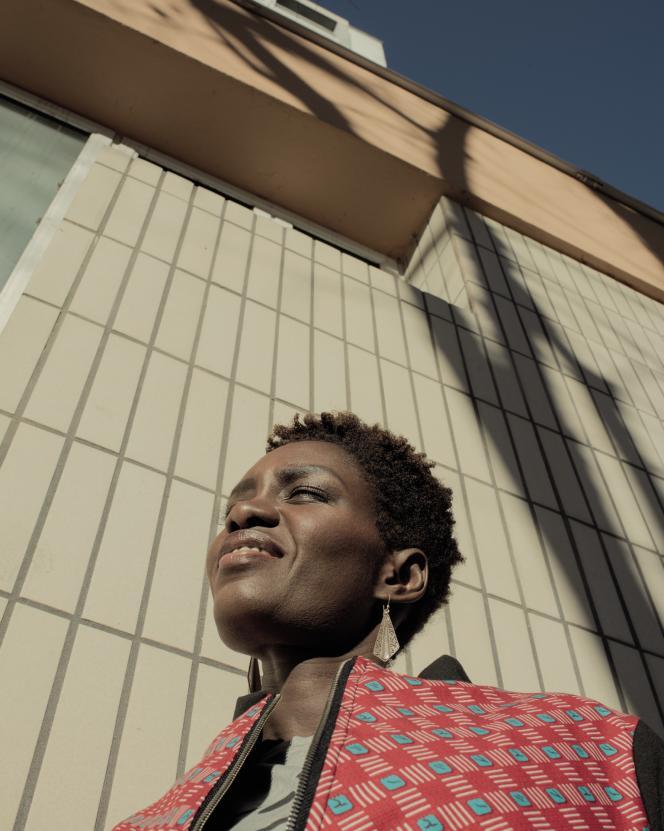 Rokhaya Diallo, le 28décembre 2017, à Paris.