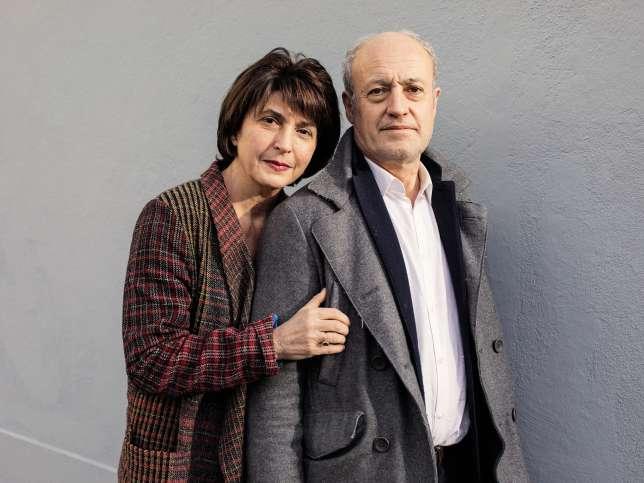 Sophie Marinopoulos et Henri Truber, le 7 janvier, à Nantes.