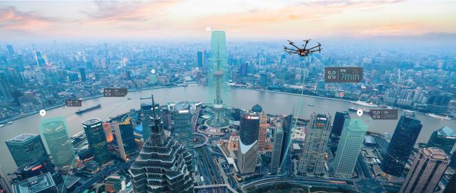 Bientôtdes cartes aériennes pour les drones ?