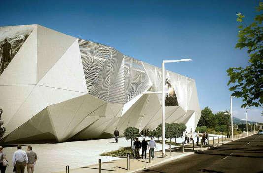 Le futur multiplexe de La Bocca offrira 2450 fauteuils répartis dans douze salles de projection.