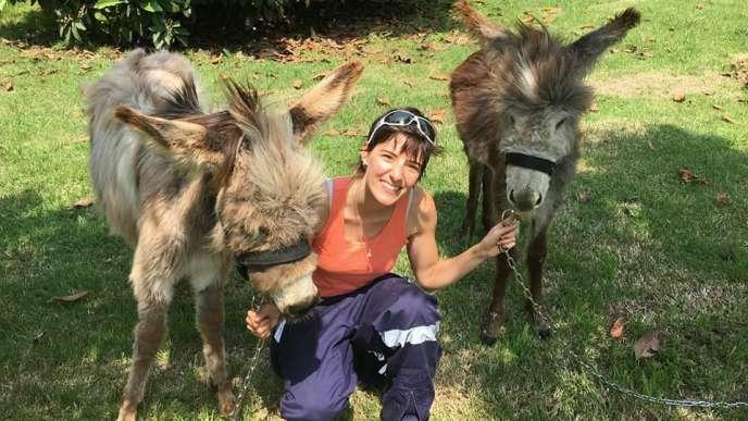 Fanny Gallicier, 30 ans, licence de géographie en poche, a fait le tour du monde pour finalement s'établir au Chili.