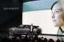 Carsten Breitfeld, PDG de Byton, le 7 janvier, au CES de Las Vegas, est un ancien dirigeant de BMW.