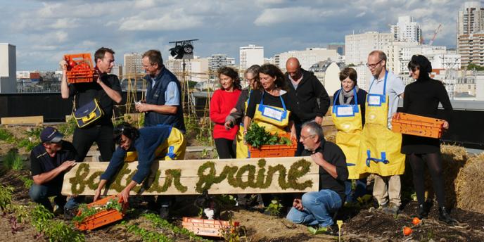 La ferme urbaine facteur graine, à Paris