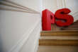 A logo is seen on the main stairway before a news conference at the French Socialist Party rue de Solferino headquarters in Paris, France, January 10, 2018. REUTERS/Christian Hartmann