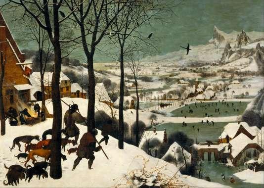 « Chasseurs dans la neige », Pieter Brueghel l'Ancien (huile sur bois, 1565).