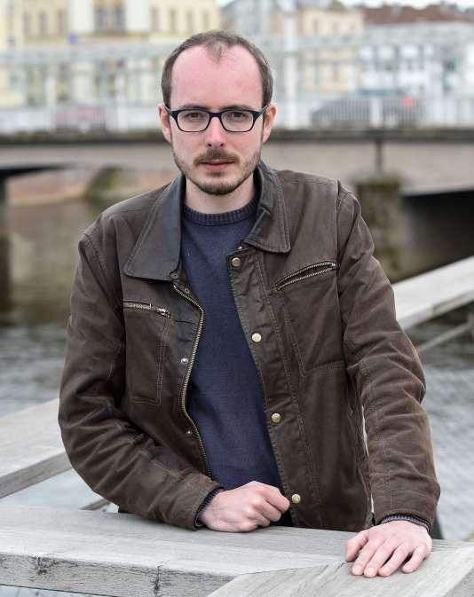 Antoine Deltour, à l'origine des Luxleaks, en avril 2016.