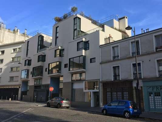 Immeubles neufs dans le 13e arrondissement de Paris.