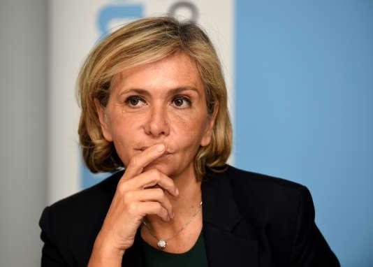 Valérie Pécresse, présidente de la région Ile-de-France, le 15 novembre 2017.